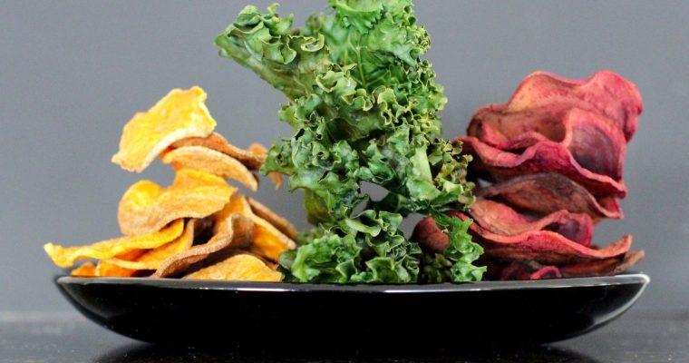 Spalvoti daržovių traškučiai (čipsai)
