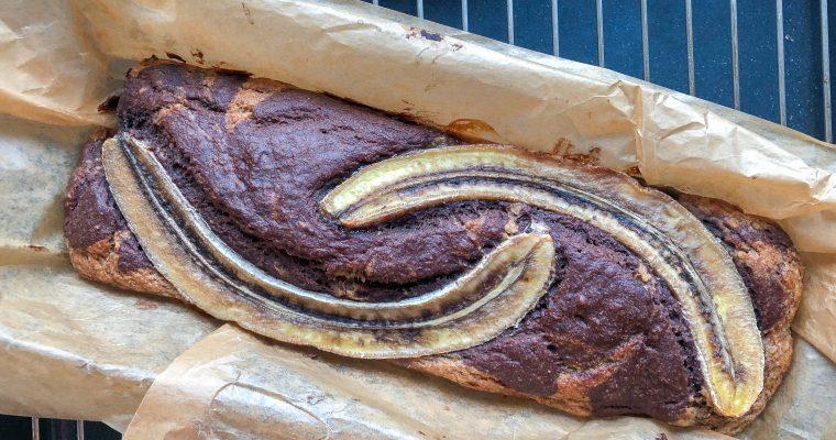 Veganiška bananų duona