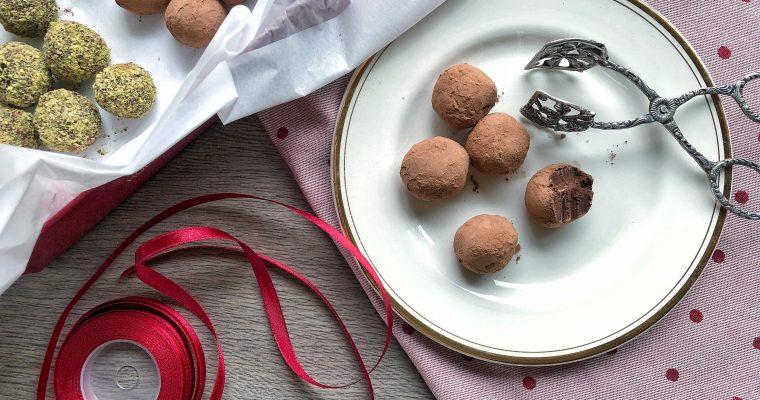 Šokoladiniai triufeliai (veganiški)